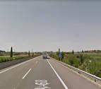 Un herido leve tras una colisión por alcance de dos camiones en Fontellas