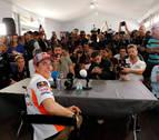 Márquez responde a Rossi: Si tiene miedo,