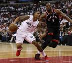 Toronto cede su primera derrota y los Cavaliers sufren una dura remontada