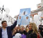 Manifestación en Madrid para exigir que se mantenga la prisión permanente revisable