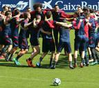 Conjura de Osasuna ante el vital partido de Alcorcón