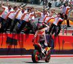 Márquez suma su primer triunfo del año y deja claro quién manda