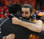 Ricky Rubio culmina con 'triple-doble' su mejor noche en la NBA y da ventaja a Utah