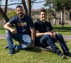 Dos pilares mantienen al Helvetia:  Antonio Bazán y Ander Ugarte