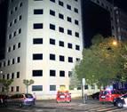 Explosión en las oficinas de la Agencia Tributaria del Estado en Pamplona
