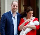 La duquesa de Cambridge da a luz a su tercer hijo, un niño