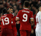 El Liverpool se acerca a la final tras golear al Roma