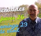 Agenda cultural de Navarra en vídeo hasta el domingo 29 de abril