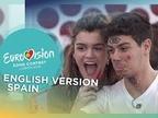 'Tu canción', de Alfred y Amaia, ya tiene versión en inglés