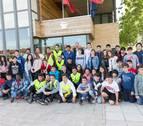 Alumnos de Tudela y Corella proponen medidas para fomentar viajes en bici o a pie
