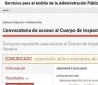 Educación no responde a un recurso y la oposición de inspectores queda suspendida