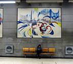 El Metro de Lisboa presume de arte para celebrar sus 70 años