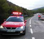 Tres heridos en un accidente de tráfico en Urdax