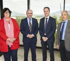 Ayerdi recibe a directivos de Sany Heavy Energy tras abrir un centro de I+D en Pamplona