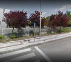 Un motorista, herido en el polígono industrial de Agustinos