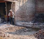 Un bombero de Mutilva, cooperante en el terremoto de México