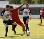 Tudelano e Izarra empataron en el último derbi de la temporada en Tudela