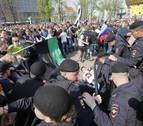 Cientos de detenidos en toda Rusia en una protesta contra Putin, incluido su rival político