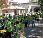 La V marcha contra el cáncer reúne en Pamplona a más de 4.000 corredores