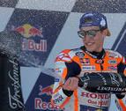 Márquez gana en Jerez y se pone líder del mundial