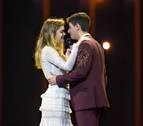 Química y perfección vocal de Amaia y Alfred en el tercer ensayo de Eurovisión