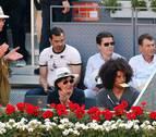 Rojillos en la Caja Mágica viendo el Mutua Madrid Open