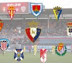 INTERACTIVO | Los rivales de Osasuna para el 'play-off'