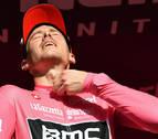 Battaglin se impone en la quinta etapa y Dennis sigue de rosa