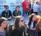 Amaia y Alfred se encuentran con los fans en Lisboa
