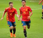 La selección sub'17 golea a Alemania y pasa a cuartos de final del Europeo