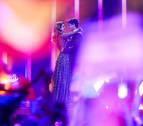 El Altice Arena estalla en aplausos tras la actuación de Amaia y Alfred