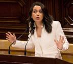 La dirección de Ciudadanos no contempla el salto de Inés Arrimadas a Madrid