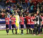 Así despidió la afición rojilla a Osasuna tras la victoria contra el Oviedo