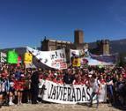 1.400 alumnos acudieron  a la Javierada escolar
