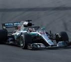 Hamilton gana en Montmeló y Mercedes hace doblete