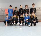 El equipo alevín de Hockey Lagunak logró una histórica clasificación para la fase sector