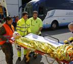 Autobuses escolares seguros: un simulacro para saber cómo actuar en caso de accidente