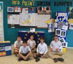 Teresianas celebra el Día de Europa como embajadora del Parlamento europeo
