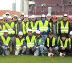 40 estudiantes asisten en Rockwool a una jornada formativa internacional