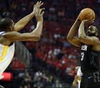 Los Rockets empatan la serie de la Conferencia Oeste con un Harden monumental