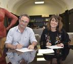 Firmado el convenio entre Pamplona e INTIA por el proyecto alimentario 'De aquí'