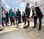 El nuevo centro de Salesianos en Sarriguren coloca su primera piedra