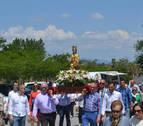 Lodosa, Mues y Mendavia, juntos en una romería multitudinaria