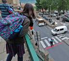 El colapso del párking de Santo Domingo genera tensión entre vecinos y padres de escolares