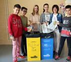 El colegio de Milagro gana un concurso sobre reciclaje