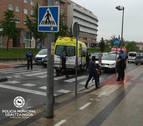 Una mujer de 79 años, atropellada en un paso de peatones en Pamplona