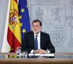 Rajoy reivindica su legitimidad y acusa a Sánchez de debilitar a España con la moción de censura