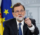 Rajoy desafía a Sánchez y le emplaza a que consume la moción de censura