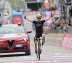 Mikel Nieve conquista la vigésima etapa y Froome defiende la