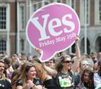 La liberalización del aborto recibe un amplio 'Sí' en Irlanda